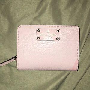 kate spade Bags - Kate spade baby pink wallet